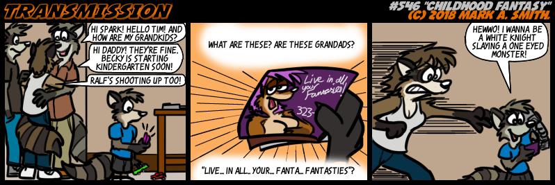 #546 Childhood Fantasy